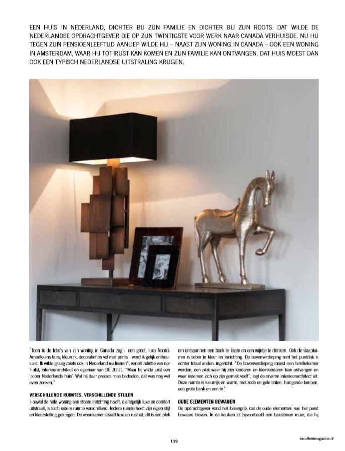 tekstschrijver woonmagazine luxe architectuur